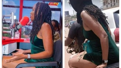Big girl mocked for boarding okada after radio interview where she said she can't date a man who doesn't have a car