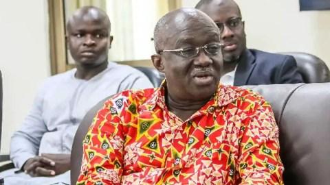 Former Aviation Minister Joseph Kofi Adda reported dead