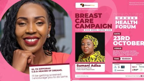 WomanRising To Organize Health Forum To Educate The Public On Breast Cancer  On October 23rd 2021