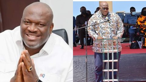 (+VIDEO) Henry Quartey Has Done A Great Job Cleaning Accra, I'm Glad I Convinced Him To Take The Job – Prez Nana Addo