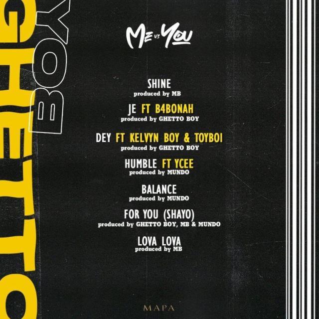 Ghetto Boy – Dey ft. Kelvyn Boy & Toyboi (Prod. by Ghetto Boy)