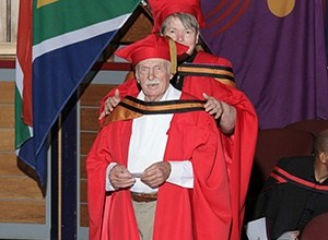 Photo of 91-year-old grandpa graduate gets PhD, but he's not done yet!