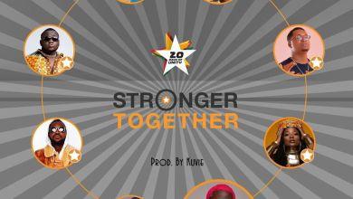 Photo of Efya x Bosom Pyung x CJ Biggerman x Feli Nuna x PonoBiom x Pappy Kojo x Kojo Cue x Fancy Gadam – Stronger Together (Prod by Kuvie)