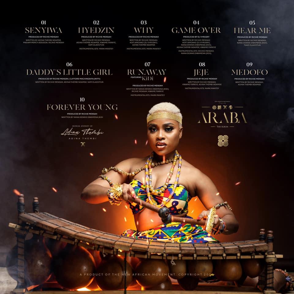 Adina - Hear Me ( Prod by Richie Mensah)