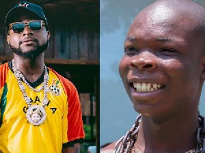AY Poyoo chases Davido for a verse in a song