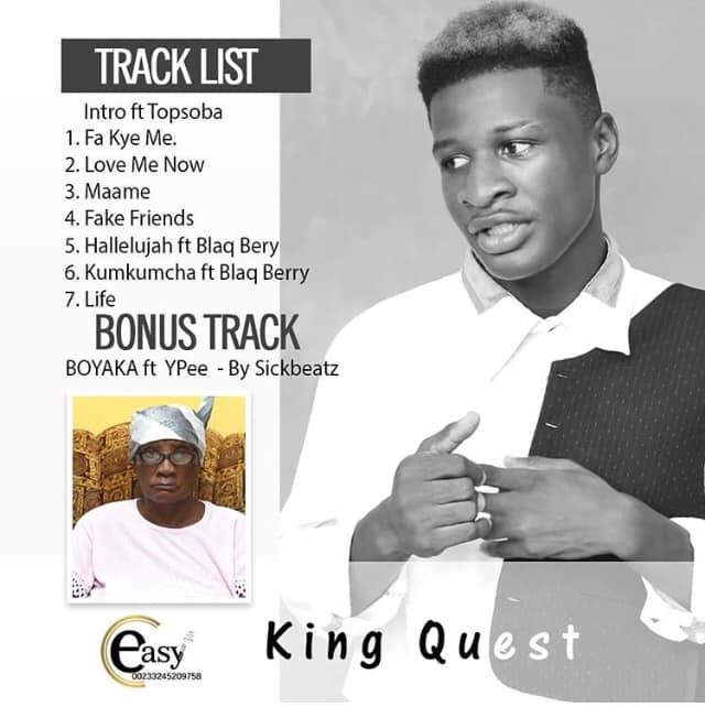King Quest - Boyaka Ft. Ypee (Prod By SickBeatz)