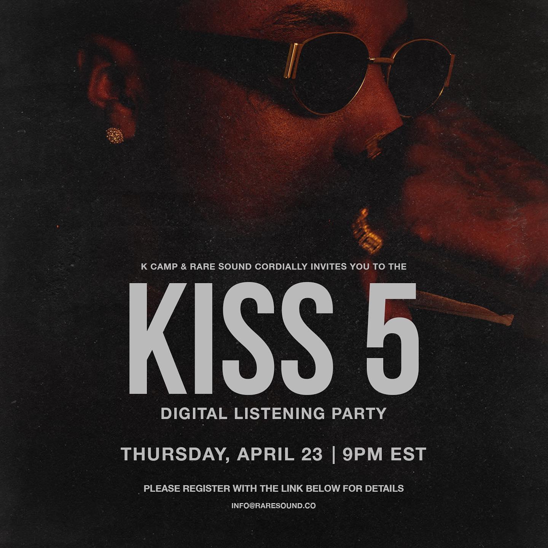 K CAMP – KISS 5 (Deluxe) (Zip Download) [Zippyshare + 320kbps]