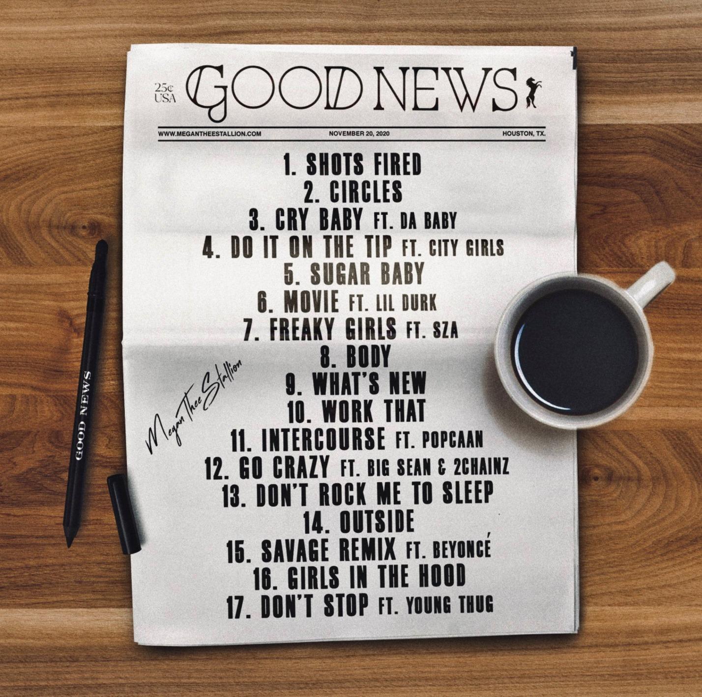 Megan Thee Stallion – Girls In The Hood (Good News)