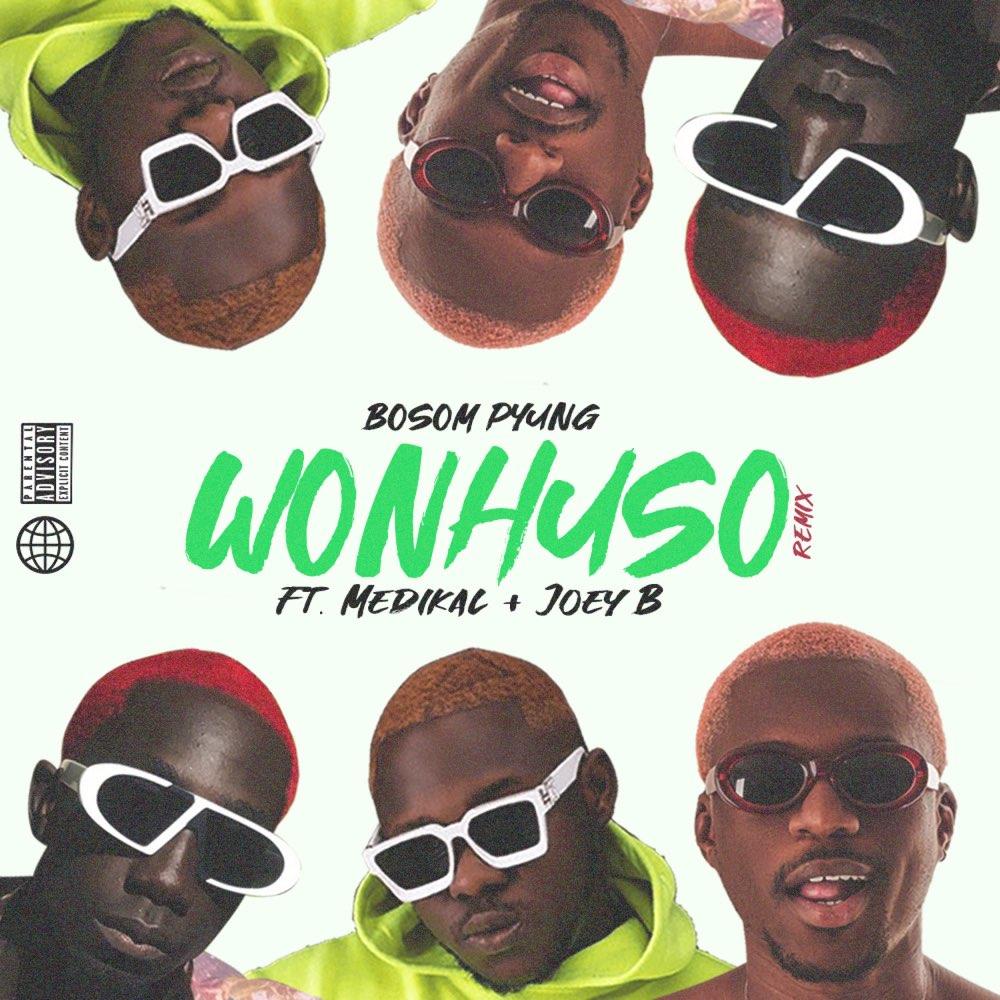 Bosom P-Yung – Wonhuso Remix ft. Medikal x Joey B
