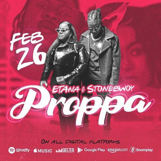Etana - Proppa Ft. Stonebwoy