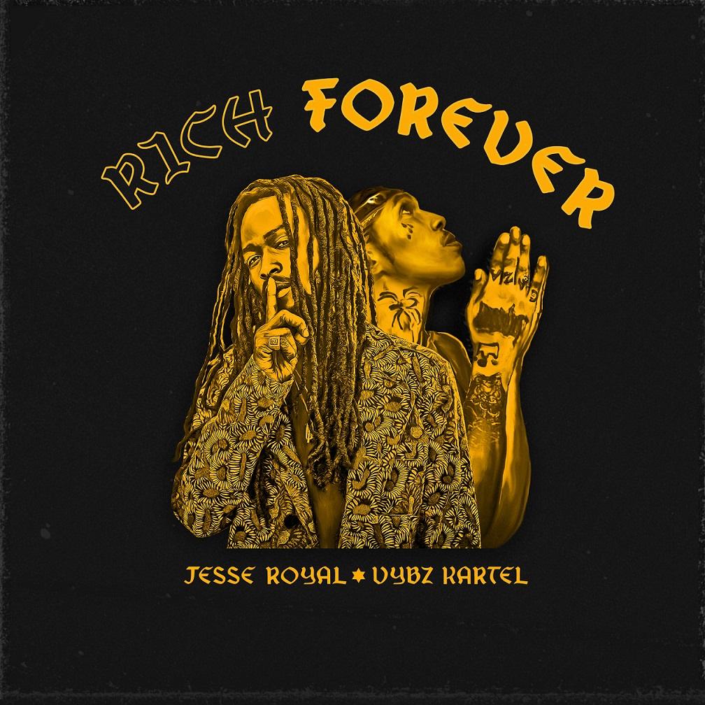 Vybz Kartel – Rich Forever Ft Jesse Royal
