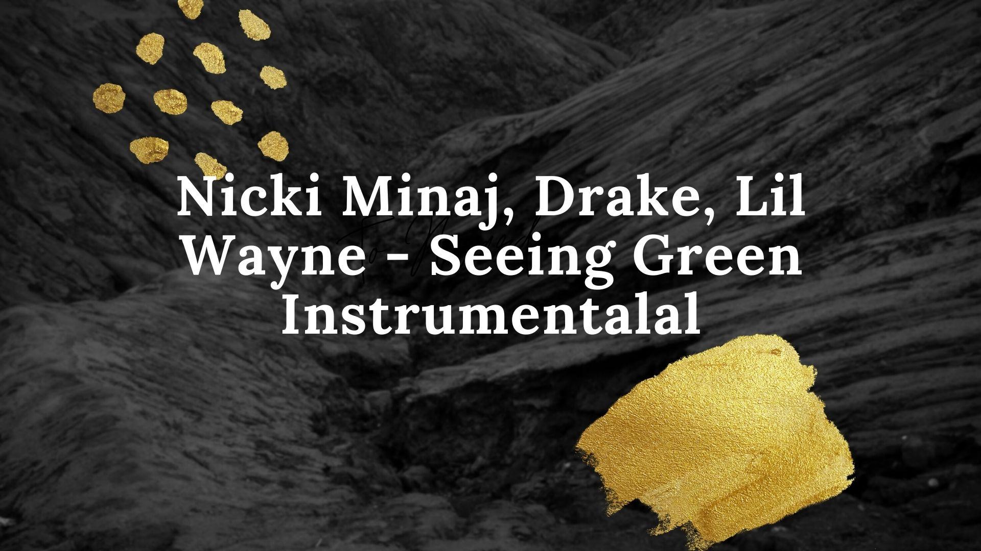 Nicki Minaj, Drake, Lil Wayne - Seeing Green Instrumental