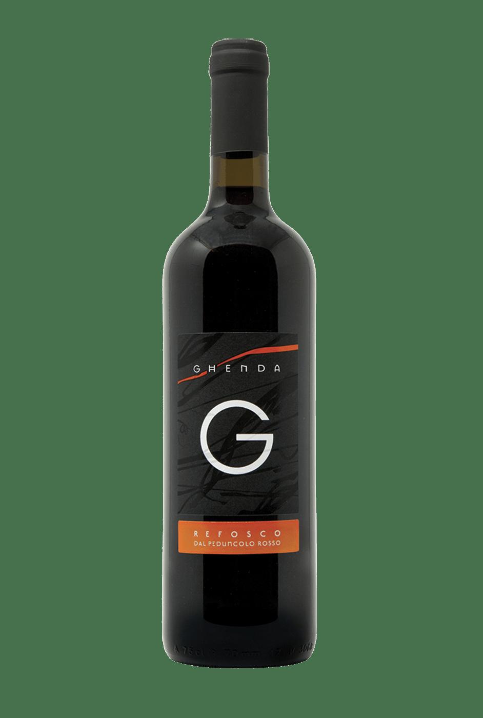 Vino Rosso Refosco Del Peduncolo Rosso