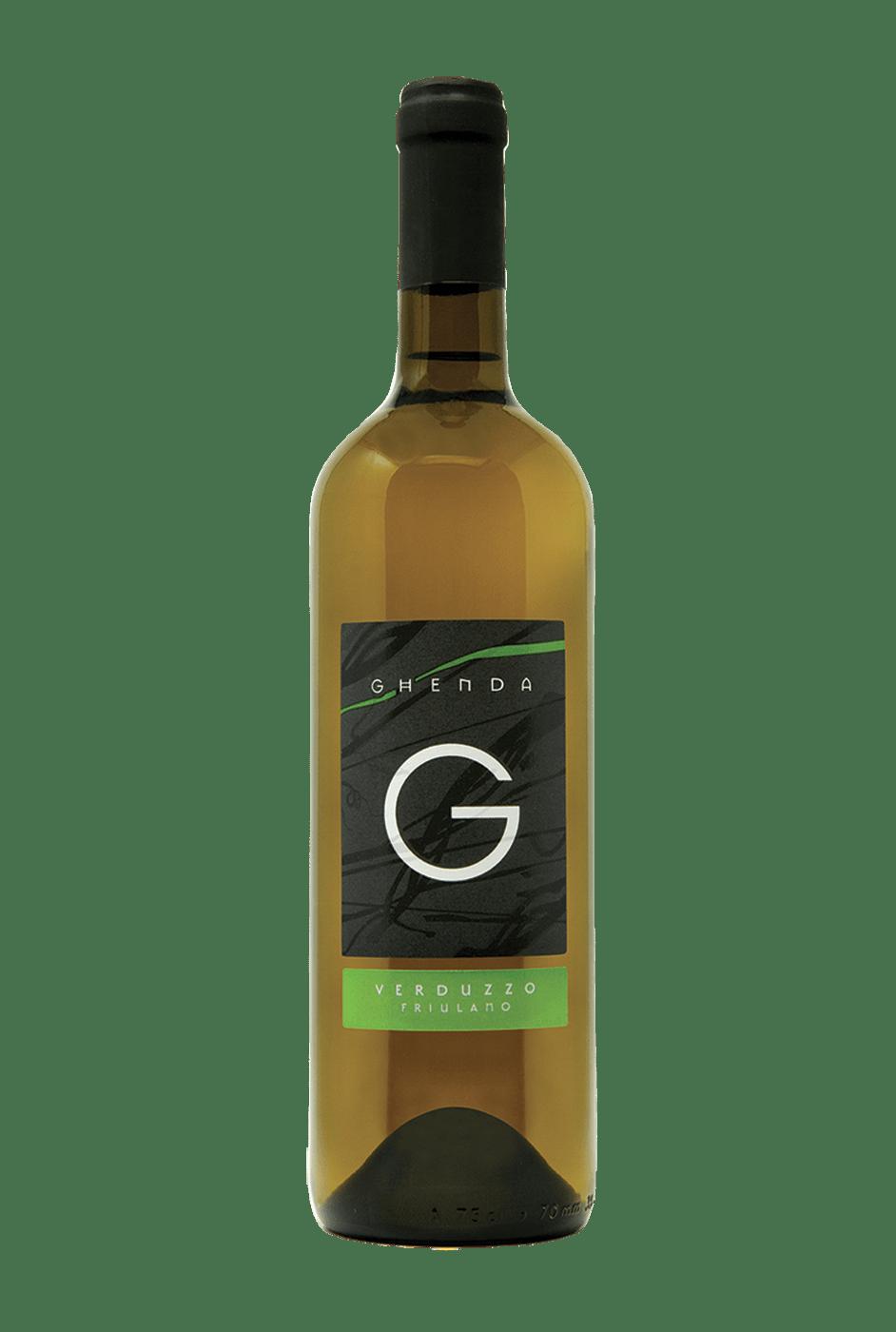 Vino Bianco Ghenda Verduzzo Friulano
