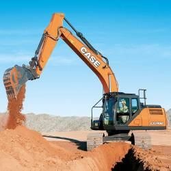 CASE CX210D Escavatore Pesante