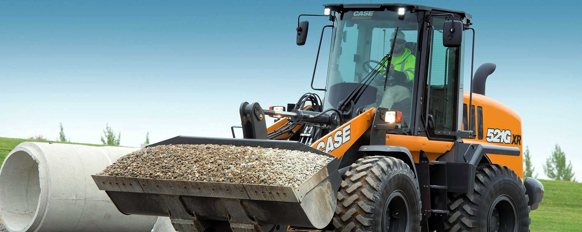 CASE serie G wheel loaders 521g