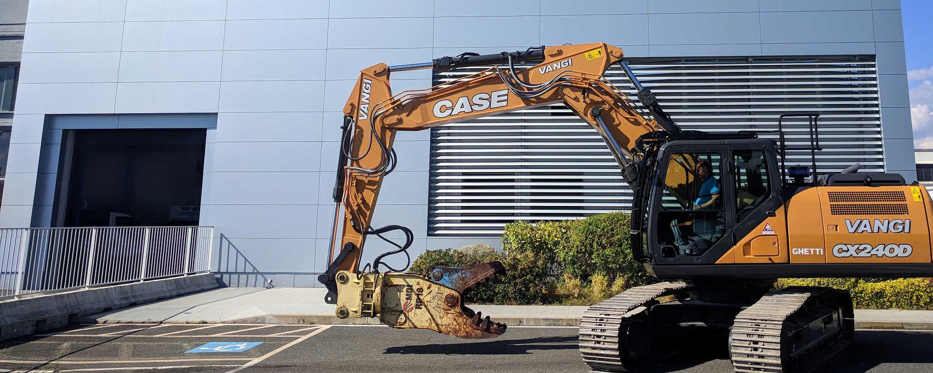 Vangi escavatore CASE CX240D