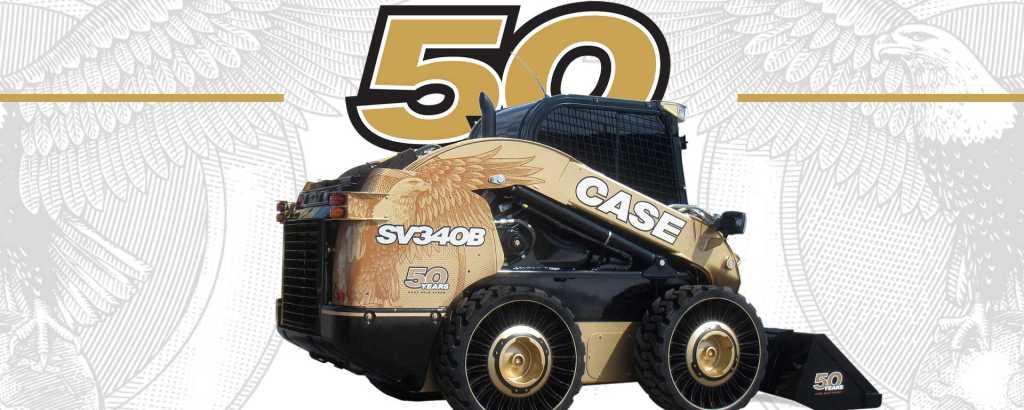 CASE Skid SV340B 50 anniversary
