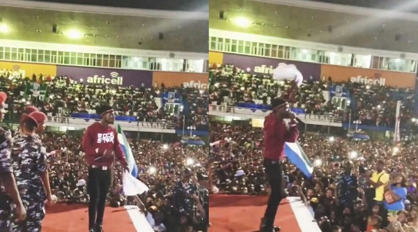 Kuami Eugene Turns Sierra Leone Upside Down With A Spectacular Performance
