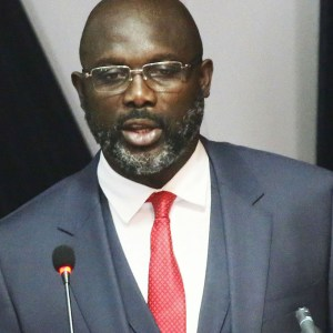President George Weah Of Liberia Forced To Abandon His Office After Snakes Paid Him A Visit