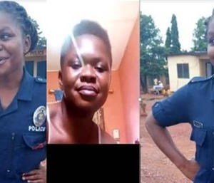 'The Video Is For My Boyfriend Abroad' – Police Lady In Recent ATOPA Video Reveals