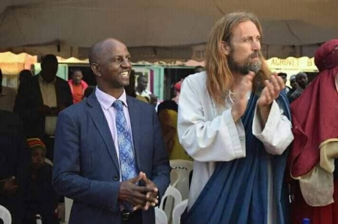 South African pastor invites Jesus Christ