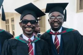 Aseidu Nketsiah graduates