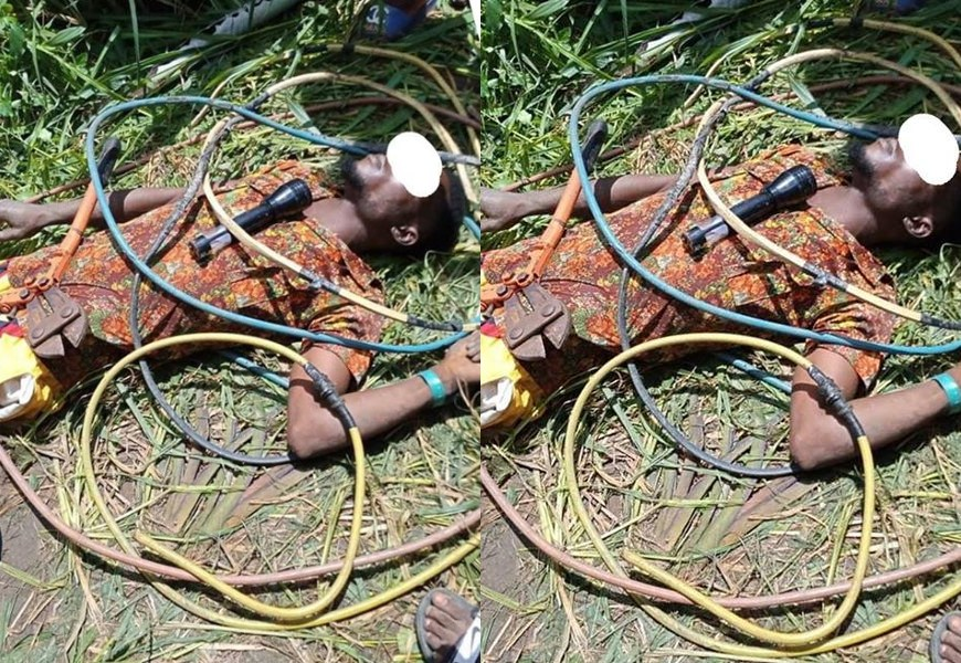 Electrical Cable Thief Electrocuted While Attempting To Steal A Transformer Cable