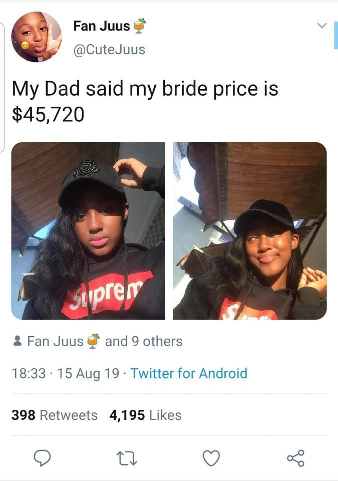 NOT AGAIN!! 'My Dad Said My Brideprice Is $45,720 – Lady Claims 2