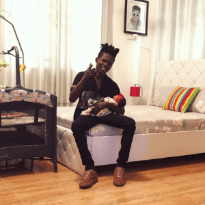 Strongman, Girlfriend Welcome A bouncing Baby Girl with- Check Out Her Cute Name