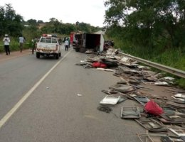 accident Techiman-Kintampo road