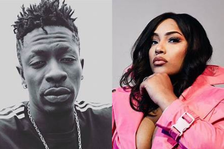Image result for Photos of shatta wale and stefflon don