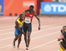 Athlete attracts global admiration