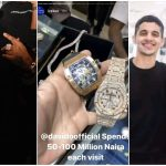 'Davido Splashes N50-100 Million Anytime He Comes To My Jewelry Shop' – Popular Jeweler  In America Ice Box Reveals