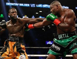 Wilder knocks out Ortiz to retain heavyweight title