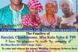 man getting married to three ladies on same day