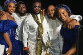Davido storms his brother's marriage ceremony