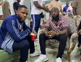 Frodd sighted with Davido