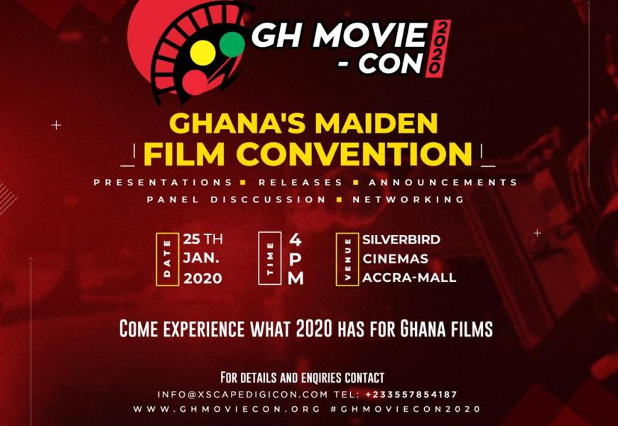Ghana's Maiden Film Convention To Be Held In January 2020