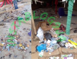 landlady fills church premises with trash to force out pastor