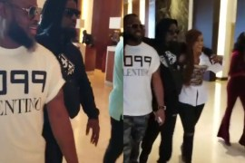 Sarkodie arrives for Cardi B concert