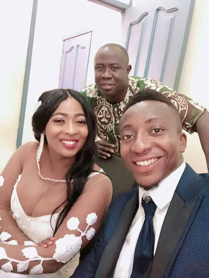 Asante Kotoko Captain Felix Annan Marries Longtime Girlfriend