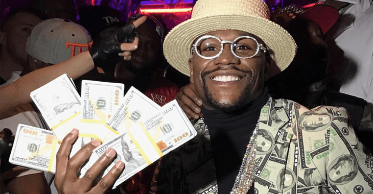 Floyd Mayweather's Instagram update dispells rumours of money troubles