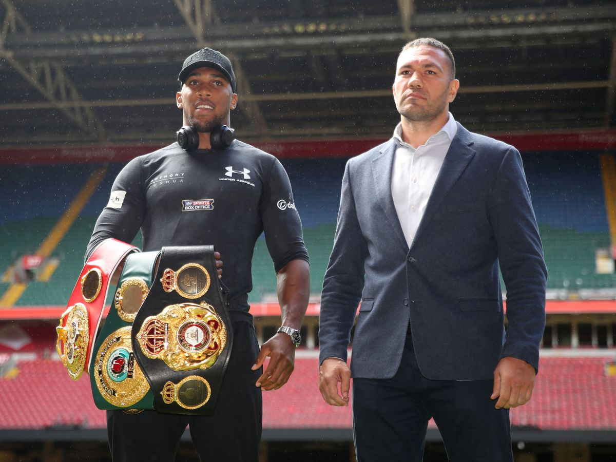 Anthony Joshua warns Tyson Fury to 'be careful what he wishes for'
