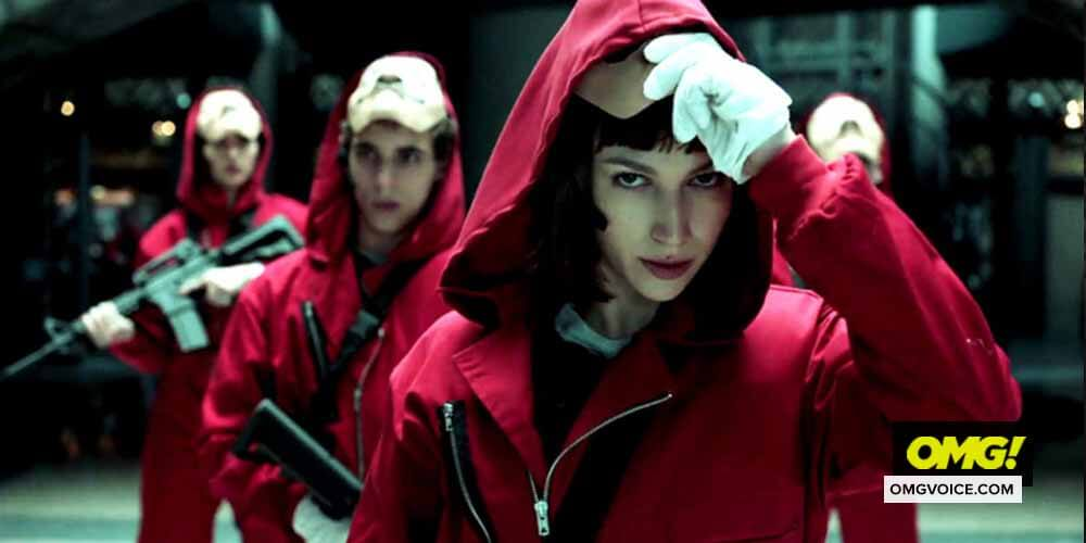 Netflix drops highly chaotic 'Money Heist: Part 4' trailer