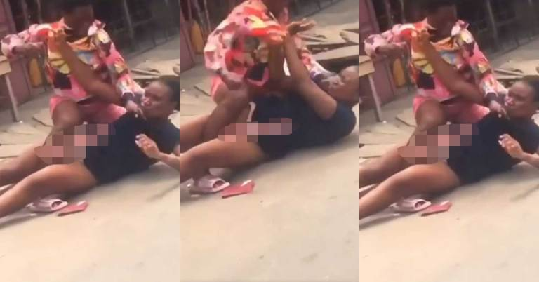 Another Video Of Women Fighting Over Man On The Streets Surfaces - Video 2