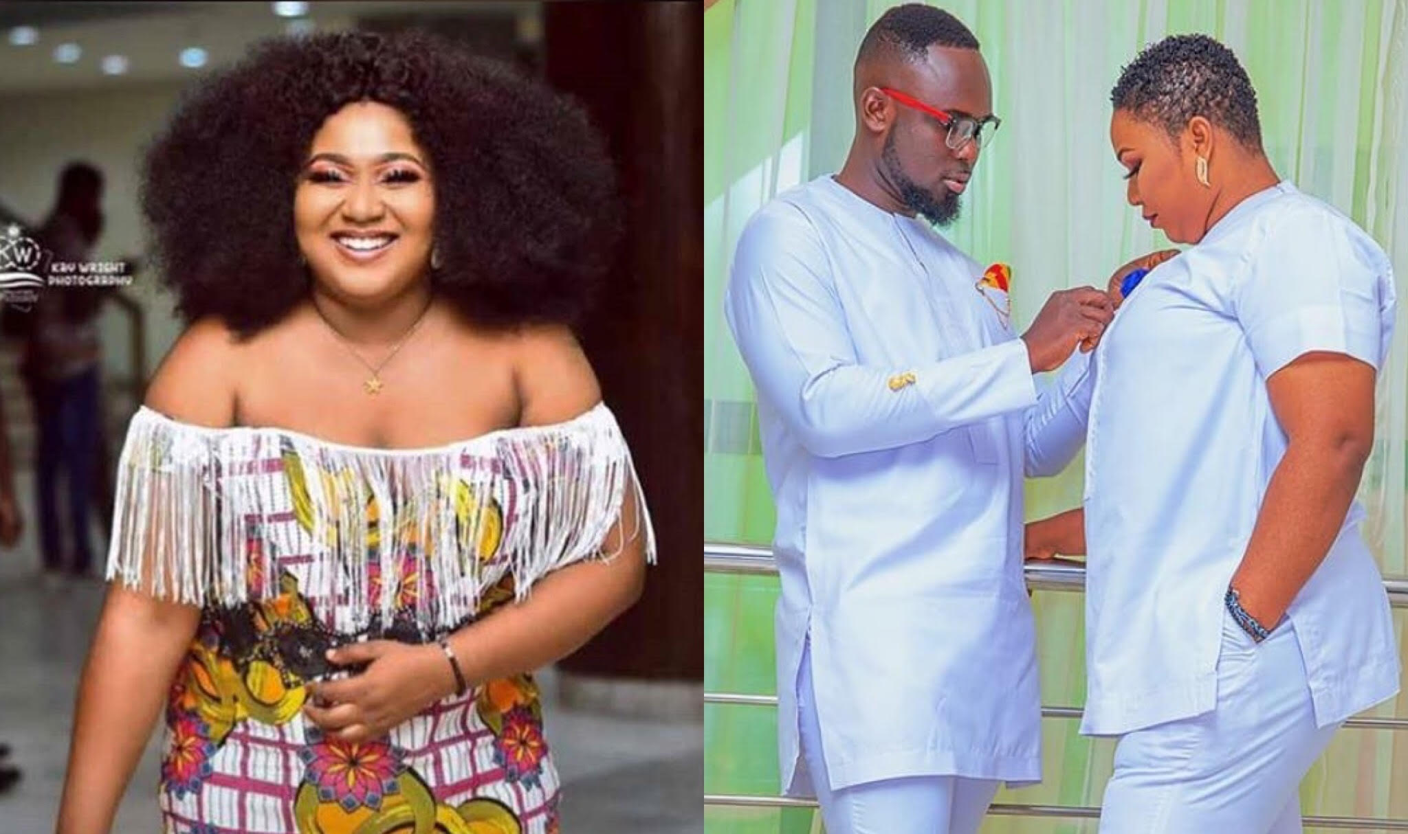 If He Is Yours Come Collect - Xandy Kamel Dares Husband Snatchers As She Flaunts Handsome Hubby (PHOTO)