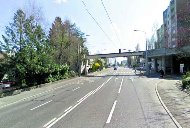Les jets de projectiles ont eu lieu à l'avenue Louis-Casaï effrayent les automobilistes.