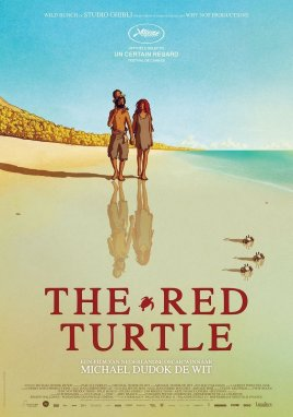 The Red Turtle Kinoposter #2 (englisch)