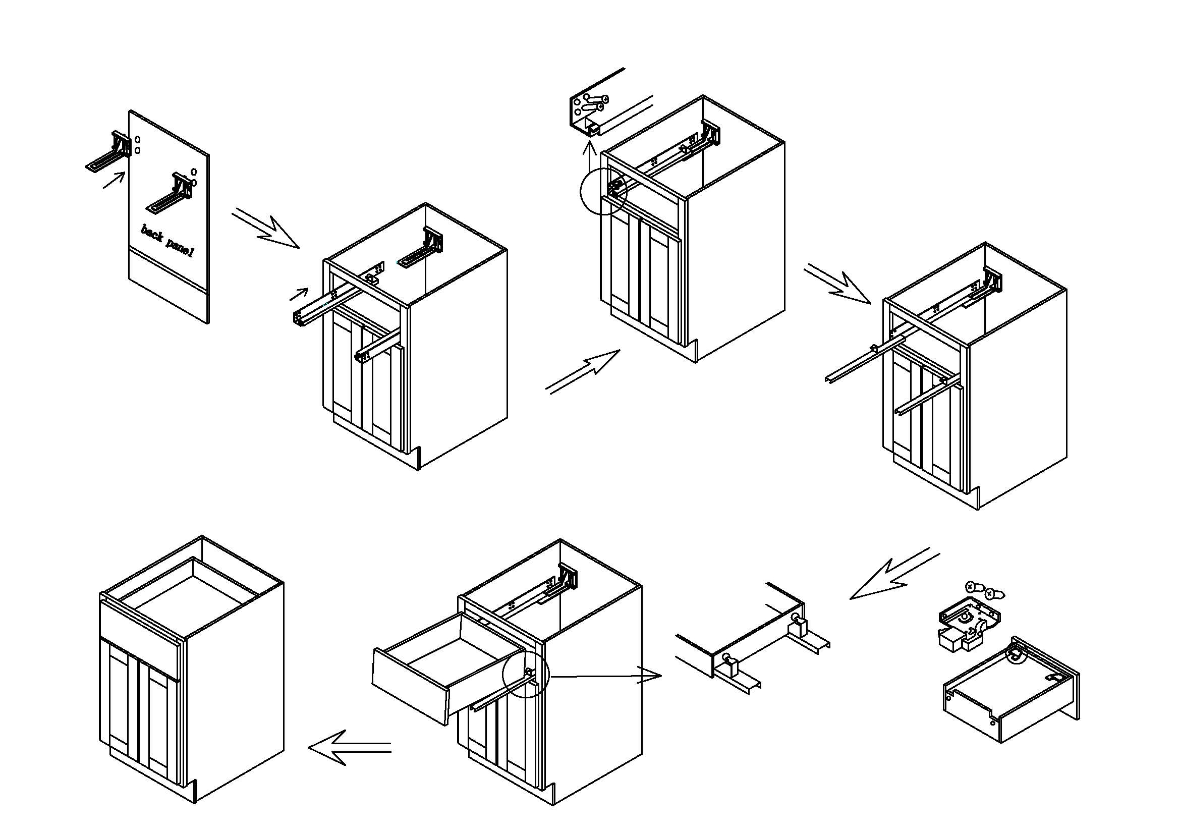 Ghi Cabinets Assembly